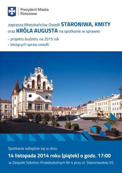 Aktualności Rzeszów | Spotkaj się z prezydentem