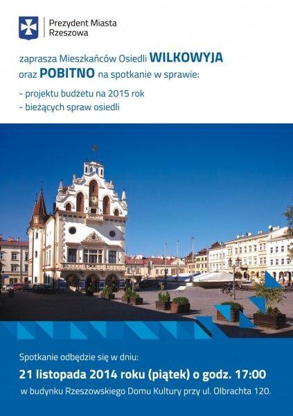 Aktualności Rzeszów |  Spotkanie z Ferencem. Zaproszeni mieszkańcy dwóch osiedli