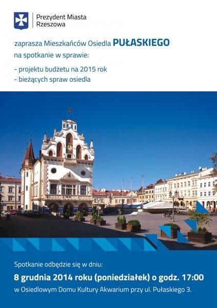 Aktualności Rzeszów | Już dziś spotkanie z Ferencem