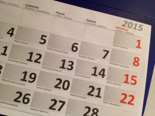 Aktualności Rzeszów | Dni wolne w 2015 roku. Sprawdź, kiedy czeka Cię długi weekend!