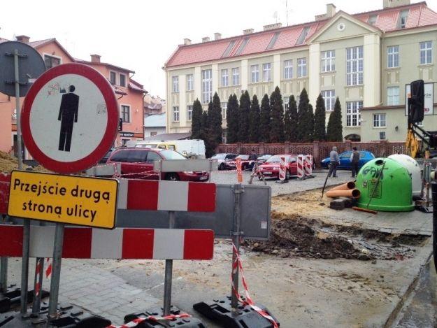Aktualności Rzeszów | Remonty przy ul. Okrzei