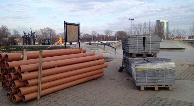 Aktualności Rzeszów | Trwa budowa zadaszenia Skateparku