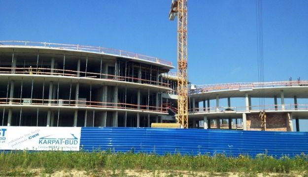 Aktualności Rzeszów | Dalej przestój na budowie Centrum Wystawienniczo-Kongresowego
