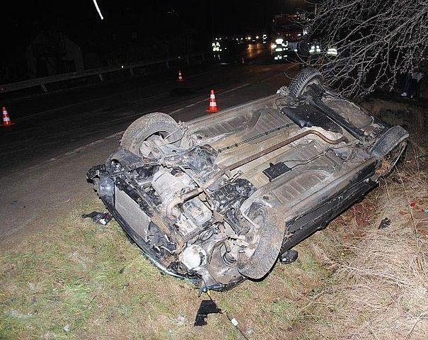 Aktualności Podkarpacie | 18-letni kierowca dachował w Humniskach