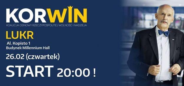 Aktualności Rzeszów | Janusz Korwin-Mikke spotka się z mieszkańcami Rzeszowa