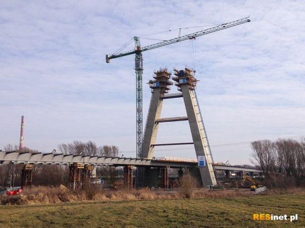 Aktualności Rzeszów | VIDEO. Zobacz film z placu budowy największego mostu na Podkarpaciu