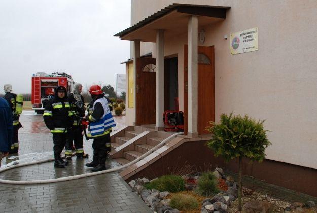 Aktualności Podkarpacie | Pożar w szkole w Dębnie. Ewakuowano 185 osób