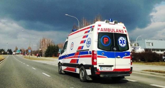 Aktualności Rzeszów | 3 osoby ranne w wypadku na Okulickiego