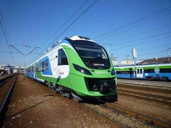 Aktualności Rzeszów | Już kursuje nowoczesny pociąg z Rzeszowa do Krakowa