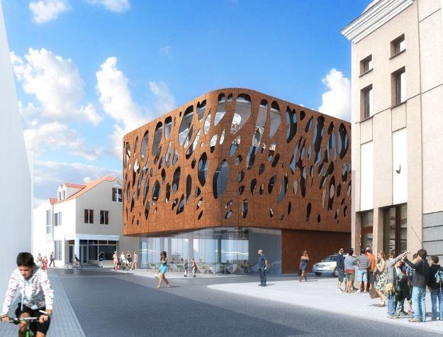 Aktualności Rzeszów | Pawilon Różanka. Kolejny dekoracyjny budynek w centrum Rzeszowa