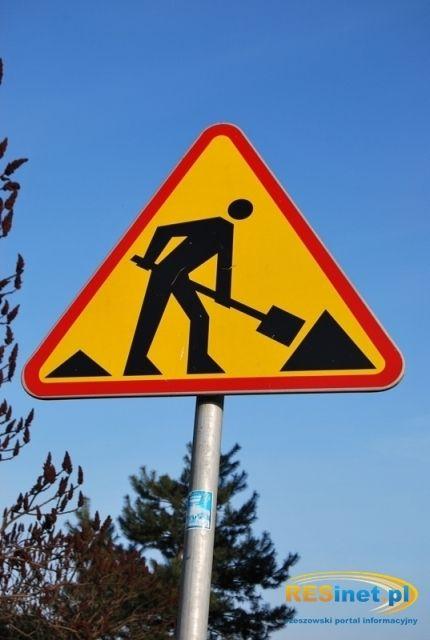 Aktualności Podkarpacie | Trwa remont nawierzchni drogi nr 4 w Łańcucie