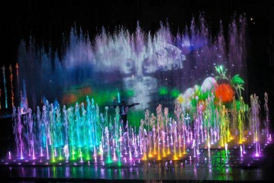 Aktualności Rzeszów | Dziś pierwszy w tym sezonie pokaz multimedialnej fontanny