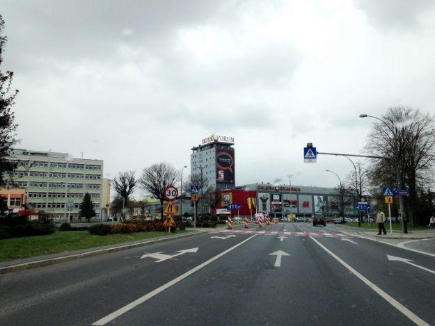 Aktualności Rzeszów | Uwaga kierowcy! Utrudnienia na al. Cieplińskiego. Ruszyła przebudowa ronda Pakosława