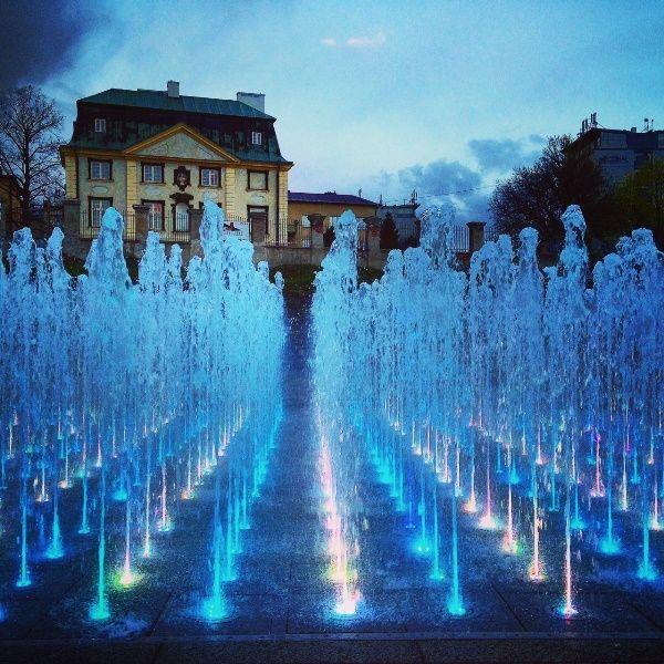 Aktualności Rzeszów | VIDEO. Po zimowej przerwie ruszyły pokazy Fontanny Multimedialnej