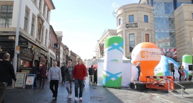 Aktualności Podkarpacie | VIDEO. Zobacz jak Podkarpacie i Rzeszów promowało się w Nottingham