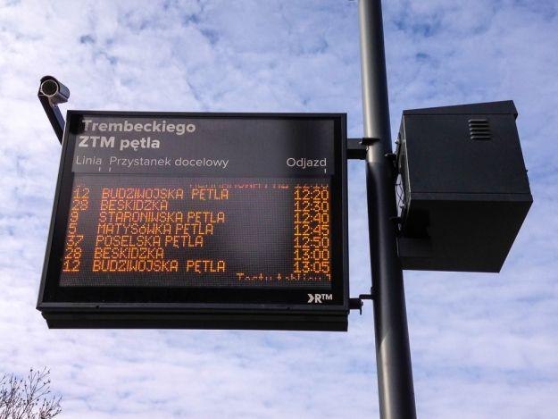 Aktualności Rzeszów | Zaczęły działać Tablice Informacji Pasażerskiej