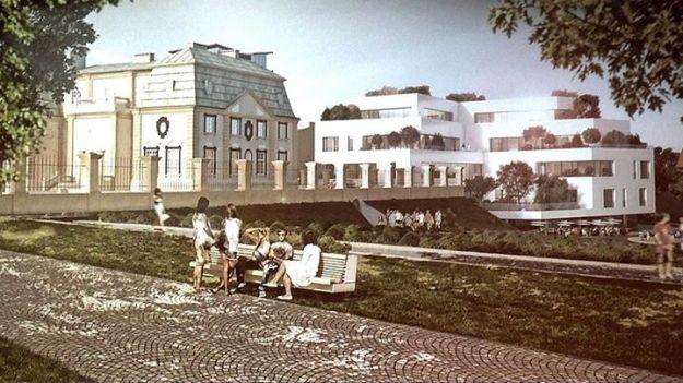 Aktualności Rzeszów | FOTO. Zaprezentowano wizję apartamentowca, który miałby stanąć w miejscu willi Kotowicza