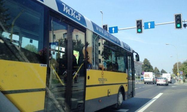 Aktualności Rzeszów | Na Marszałkowskiej zapalił się autobus MKS