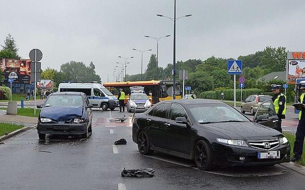 Aktualności Rzeszów | Wypadek na ul. Rejtana. Nieprzytomny rowerzysta trafił do szpitala
