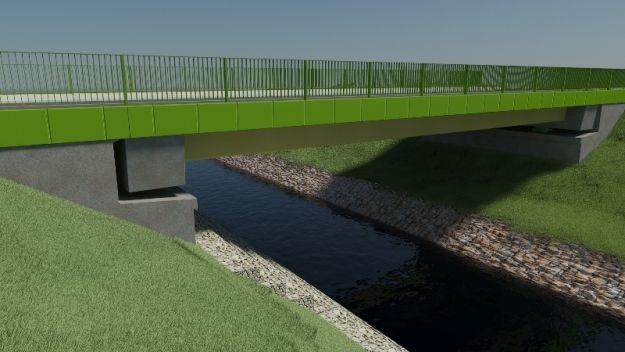 Aktualności Rzeszów | Pod Rzeszowem budują pierwszy w Polsce most kompozytowy