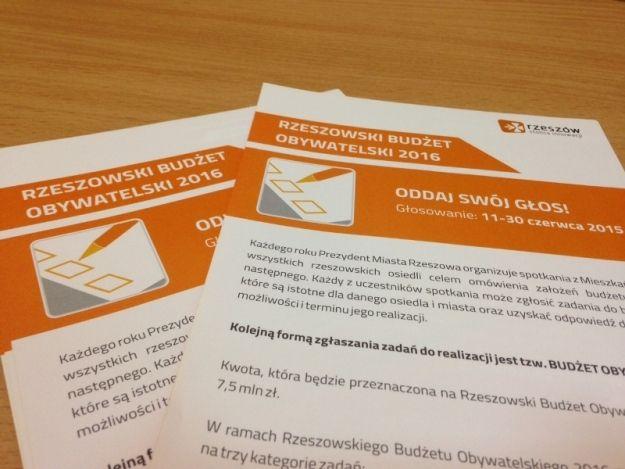 Aktualności Rzeszów | 12 dni na głosowanie do Rzeszowskiego Budżetu Obywatelskiego. Pomożemy Ci wybrać projekt!