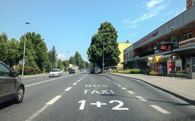 Aktualności Rzeszów | Buspasy również dla samochodów osobowych i motocykli