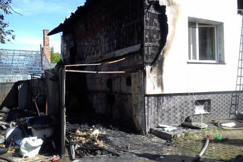 Aktualności Rzeszów | Wybuch gazu w Rudnej Małej. 51-latek w stanie ciężkim