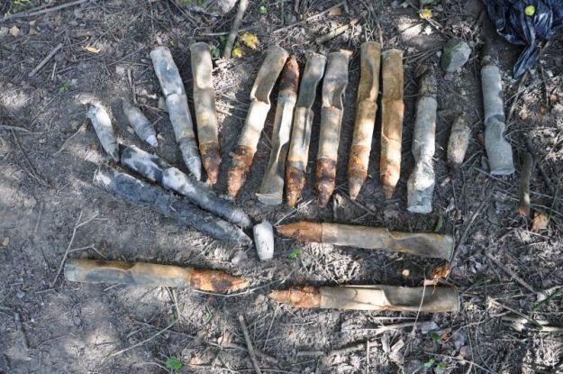 Aktualności Podkarpacie | Natknęli się na amunicję artyleryjską z II wojny światowej. Zabezpieczono aż 500 sztuk