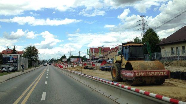 Aktualności Rzeszów | II etap rozbudowy al. Sikorskiego. Zobacz, jak przebiegają roboty