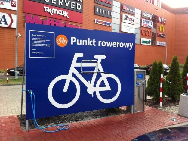 Aktualności Rzeszów | Powstał pierwszy w Rzeszowie Punkt Rowerowy