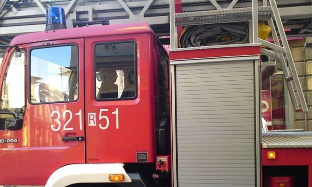 Aktualności Rzeszów | Zapalił się autobus komunikacji miejskiej