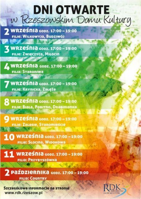 Aktualności Rzeszów | Dni otwarte RDK. Od września kluby malucha i więcej zajęć dla seniorów