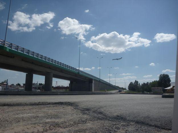 Aktualności Rzeszów | Droga lotniskowa coraz bliżej. Wiadukt w Rudnej Małej przejezdny od poniedziałku