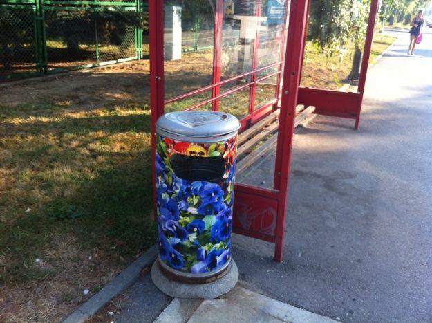 Aktualności Rzeszów | Kosze w kwiatki. Nowa inwestycja miasta
