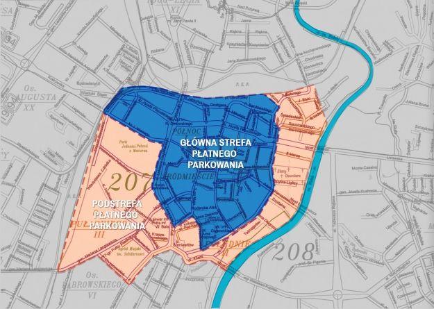 Aktualności Rzeszów | Coraz bliżej strefy płatnego parkowania. Zobacz gdzie zapłacimy za postój (MAPKA)