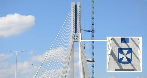 Aktualności Rzeszów | FOTO. Kolorowy herb Rzeszowa ozdobił Most Mazowieckiego