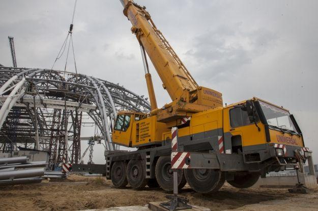 Aktualności Rzeszów | FOTO. Centrum Wystawienniczo-Kongresowe coraz bliżej finiszu. Zdjęcia z placu budowy
