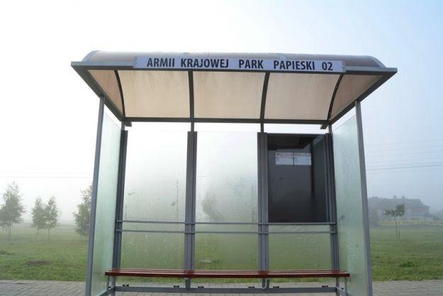 Aktualności Rzeszów | Nowy przystanek autobusowy przy Parku Papieskim