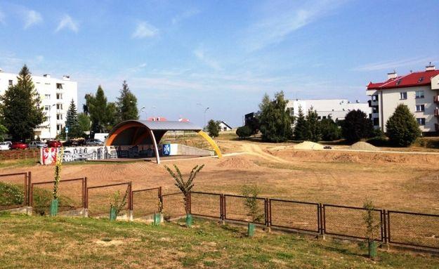 Aktualności Rzeszów | Trwają prace przy zagospodarowaniu terenów zieleni na osiedlu Krakowska Południe