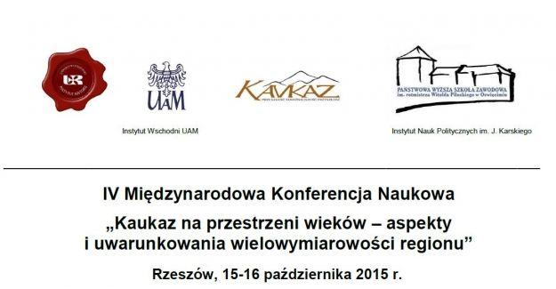Aktualności | IV Międzynarodowa Konferencja Naukowa  o Kaukazie