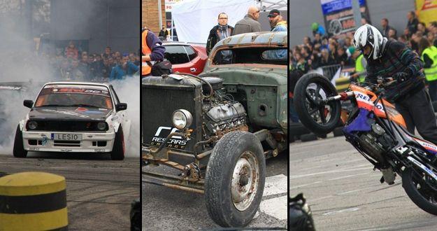 Aktualności Rzeszów | FOTO. Zobacz jak palili gumy przy Tesco. Zdjęcia z Festiwalu Motoryzacyjnego