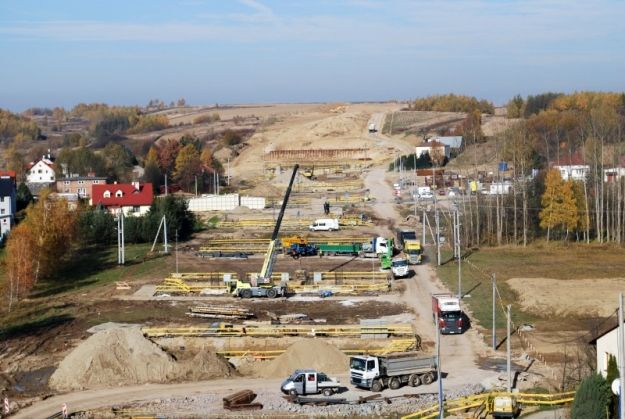 Aktualności Rzeszów | (FOTO) Trwa budowa S19 Świlcza-Rzeszów Południe