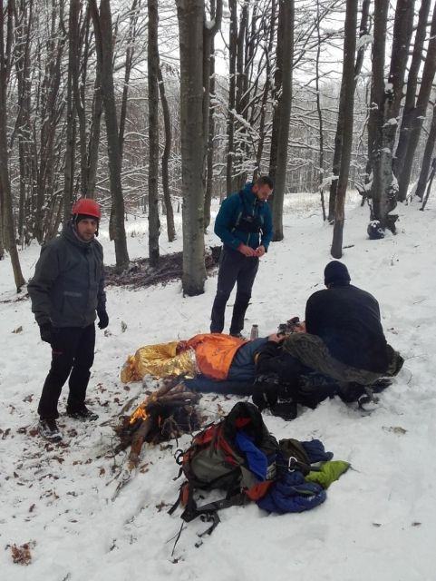 Aktualności Podkarpacie | Omal nie doszło do tragedii. Akcja poszukiwawcza w Bieszczadach