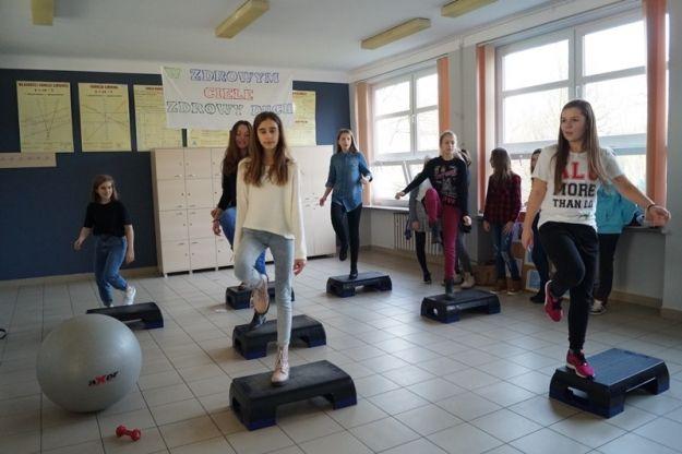 Aktualności Rzeszów | Uczniowie z ALO zachęcają do aktywności fizycznej i zdrowego stylu życia