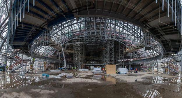 Aktualności Rzeszów | Trwają odbiory w Centrum Wystawienniczo-Kongresowym. Inwestycja dobiega końca