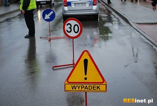 Aktualności Rzeszów | Feralny poniedziałek na rzeszowskich ulicach. Dwa wypadki drogowe, troje poszkodowanych