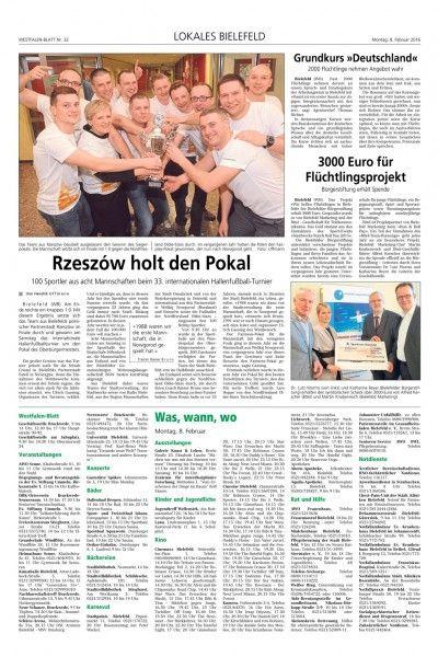 Aktualności Rzeszów | Drużyna Miasta Rzeszowa zwycięzcą na międzynarodowym turnieju w Bielefeldzie
