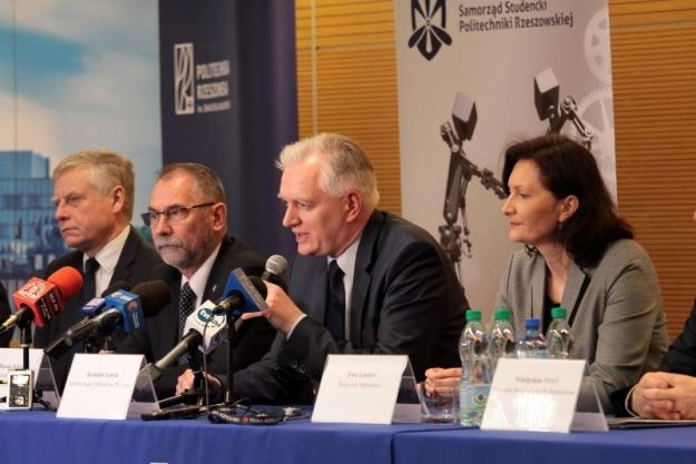 Aktualności Rzeszów | Jarosław Gowin odwiedził Rzeszów