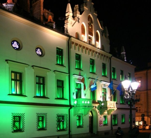 Aktualności Rzeszów | Rzeszów zaświecił na zielono