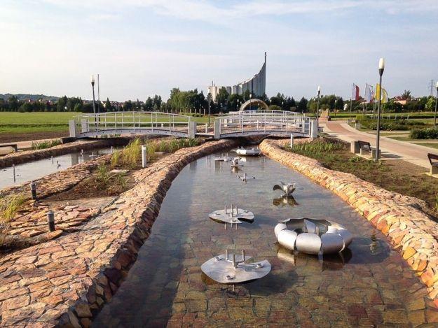 Aktualności Rzeszów | Powstanie mostek nad potokiem Czekaj. Połączy ul. Tulipanową z Parkiem Papieskim
